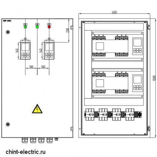 Шкаф АВР на 3 ввода 250А