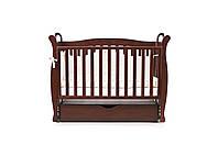 Детская кроватка Верес соня ЛД15 120*60 маятник с ящиком орех