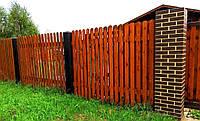 Двухслойный забор для дачи LNK