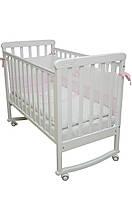 Детская кроватка Верес соня ЛД12 120*60 белая