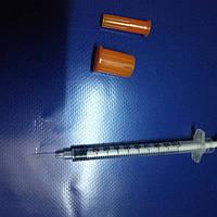 """Шприц инсулиновый """"АЛЕКС-ФАРМ"""" 1 мл, U-100, интегрированая игла 30G (0,30 х 13 мм.) уп/180шт"""