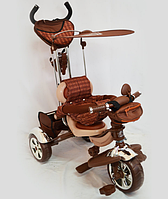 Велосипед Трехколесный Lexus-Trike LX-600 (Укомплектован большой прочной, вместительной корзиной в задней части велосипеда, сумочкой и подстаканником