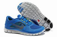 Кроссовки Nike Free Run 5.0 V3 Blue White, фото 1