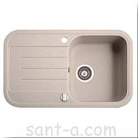 Врезная кухонная мойка Marmorin PESTA 1k 1o одна чаша, одно крыло (170 113 0xx), фото 1