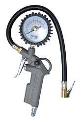 Пистолет для подкачки колес с манометром 63 мм пневматическийHtools80K503