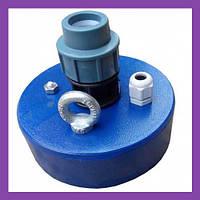 Оголовок для скважины (металл) с сальником Ø125 мм (Ø32мм)