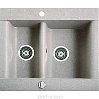 Врезная кухонная мойка Marmorin VOGA 1,5k полторы чаши (110 503 0xx), фото 1