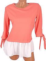 Женская свободная блузка (в расцветках), фото 1