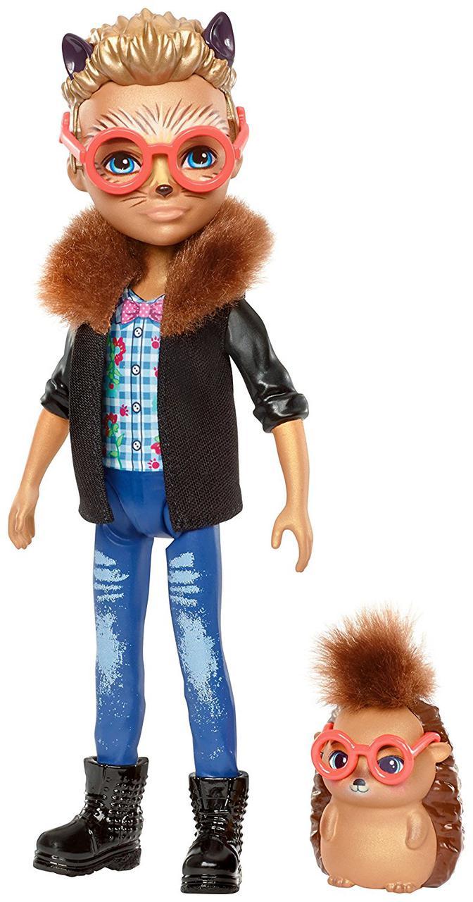 Кукла Энчантималс Еж Хиксби и друг ежик Поинтер Enchantimals Hixby Hedgehog with Pointer hedgehog friend