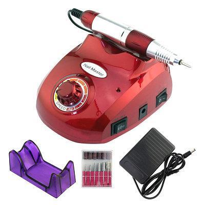 Фрезер для маникюра и педикюра Nail Master ZS 603 35000 об/мин (35W) красный