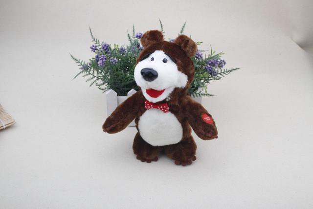"""Интерактивная игрушка """"Медведь"""" из мультика """" Маша и Медведь"""""""