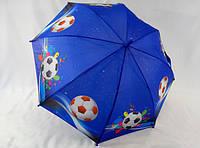 """Крепкие зонты для мальчиков """"Футбол"""" № 019 от Calm Rain"""