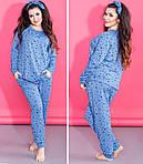 Женская трикотажная пижама, фото 4