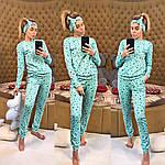 Женская трикотажная пижама, фото 7