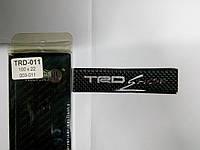 Силиконовая 3D наклейка TRD SHOP
