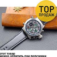 Водонепроницаемые армейские часы AMST AM3003 Black / кварцевые часы