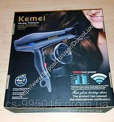 Горячий фен для волос профессионала салона Kemei Km 3319 сбывания 1200W