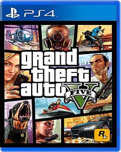 Новый Диск GTA 5 PS4 (русская версия)
