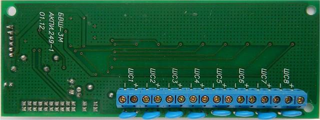 БВШ-3М Блок входных шлейфов (8ШС)