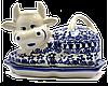 Керамическая масленка Krowa