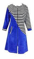 Женский велюровый халат 44 размер