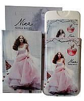 Мини парфюм в чехле 50мл Nina Ricci Nina (red apple)