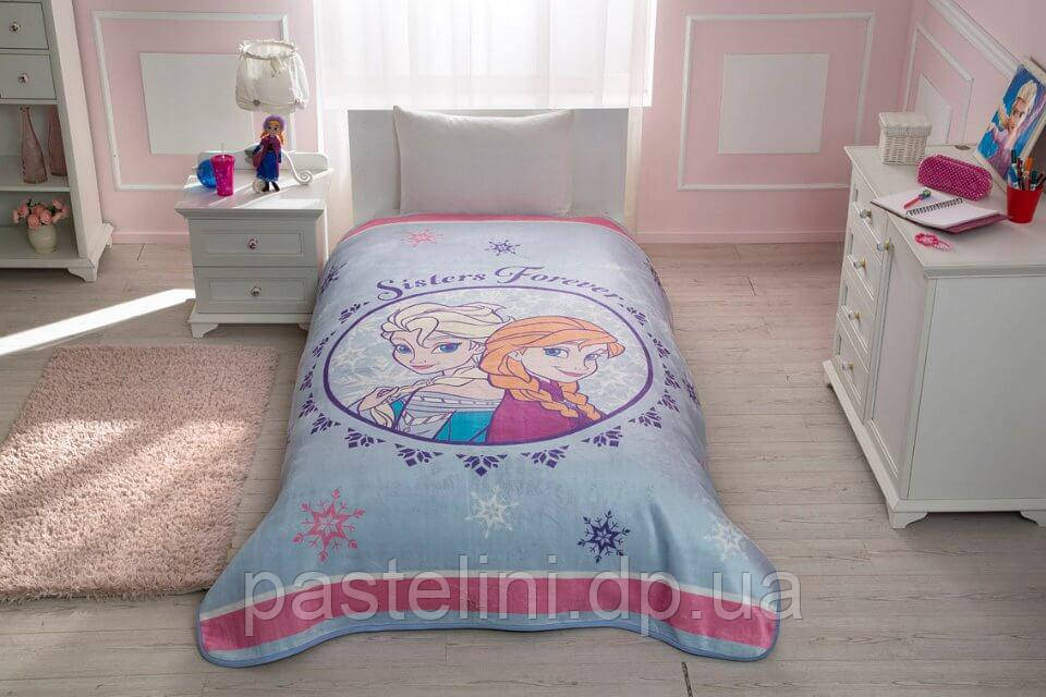 Плед - покрывало TAC Frozen Elsa & Anna