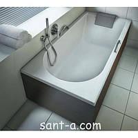 Ванна акриловая прямоугольная Kolo Mirra 150x75 XWP3350001 с подголовником, фото 1