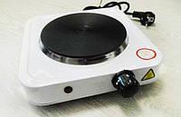 Настольная электрическая плита Hot plate HP 150, электроплита 1 конфорка,  электрическая настольная