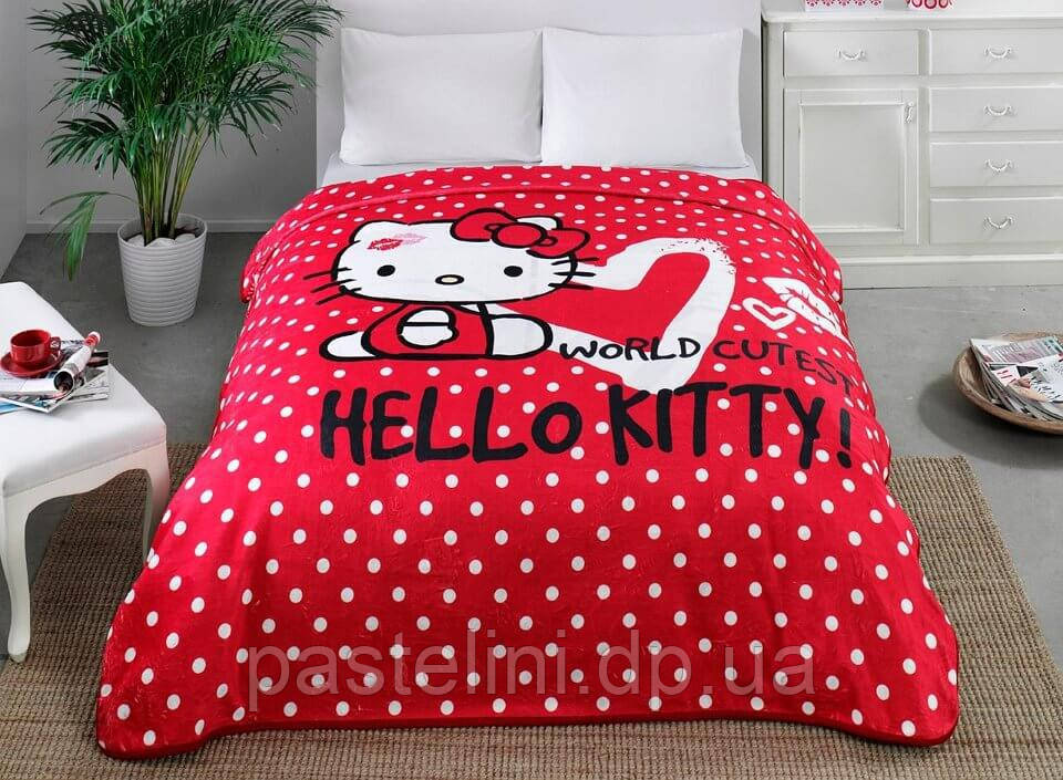 Плед - покрывало TAC Disney Hello Kitty 220х240 см