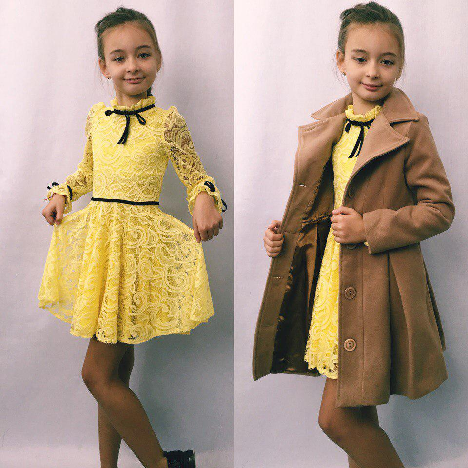 363f4de5faac28d Нарядное гипюровое детское платье