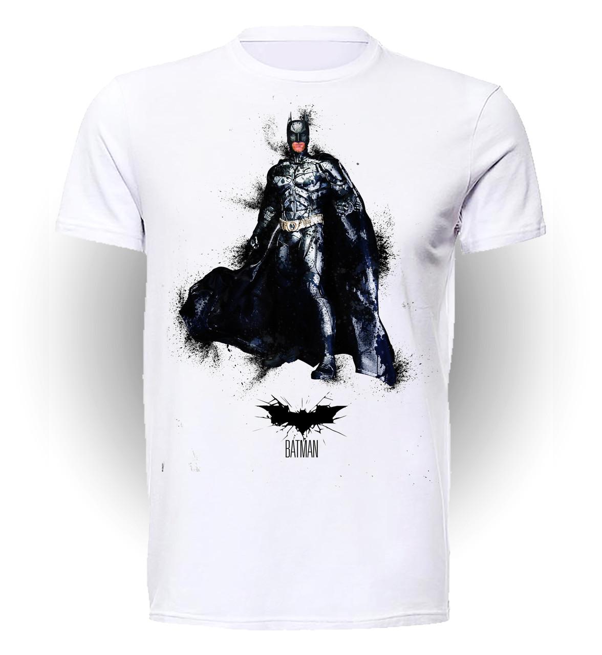 Футболка GeekLand Бэтмен Batman grunge BM.01.048