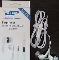 Наушники вакуумные проводные с микрофоном Earphone Samsung №1