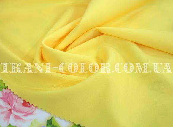 Трикотаж джерси желтый, фото 2