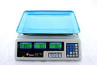 Весы Domotec ACS 50kg/5g MS 208 6V, Торговые электронные весы, Торговые весы 50 кг