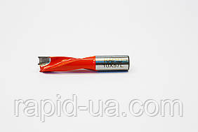 Сверло глухое Т 5 мм, L 57 мм, Rapid левое. для сверлильно-присадочных станков