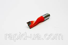 Свердло глухе Т 8 мм, L 57 мм, Rapid ліве. для свердлильно-присадних верстатів