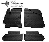 Stingray Модельные автоковрики в салон Daewoo Lanos  1997- Комплект из 4-х ковриков (Черный)