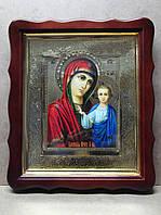 Казанская икона Божией Матери 35х40см
