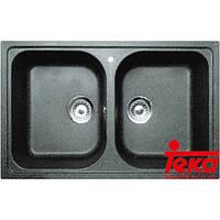 Двойная гранитная мойка Teka 88688 ALBA 90 B-TG Тека, фото 1