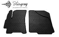 Stingray Модельные автоковрики в салон ДЭУ Ланос 1997- Комплект из 2-х ковриков (Черный)