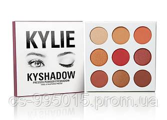 Тени Kylie Cosmetics Kyshadow The Burgundy Palette ( silver)