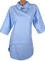 Прямое платье в морском стиле (в расцветках)