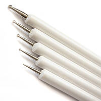 Набор Дотс для дизайна ногтей 5шт DMP-05 белые