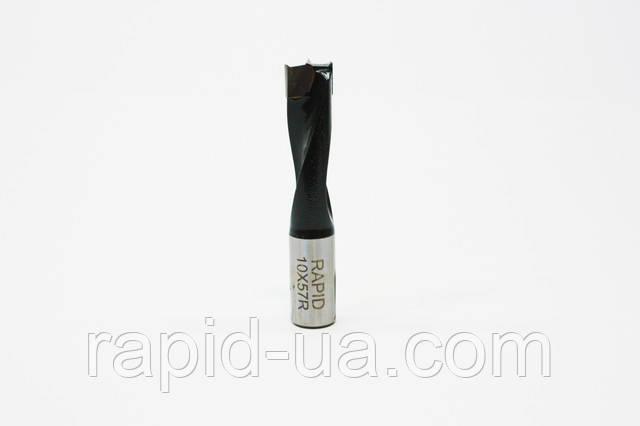 Свердло глухе Т 4 мм, L 57 мм, Rapid праве. для свердлильно-присадних верстатів