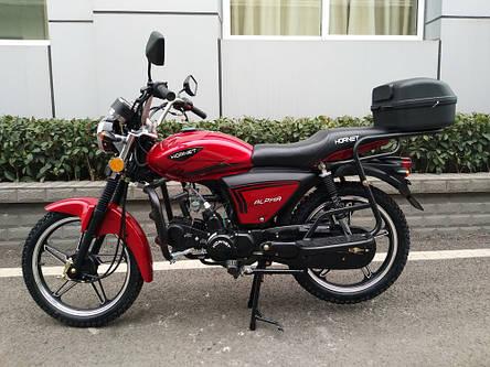 Мотоцикл HORNET Alpha (Classic) 125куб.см, красный, фото 2