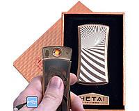 """USB зажигалка в подарочной упаковке """"HETAI"""" (спираль накаливания)"""