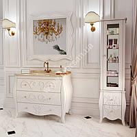 Тумба напольная для ванной комнаты 1200x560мм Marsan ARLETTE (Марсан 16-Арлетт), белая, фото 1