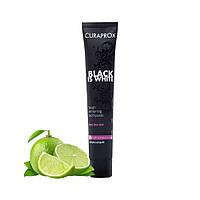 Зубная паста Curaprox Black is White (лайм), 90 мл, фото 1