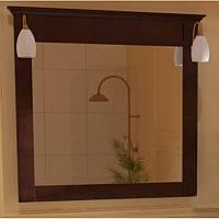 Зеркало для ванной комнаты Marsan DESIREE 950x920мм венге** (Марсан 3-Дезире)